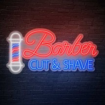 Néon 'Barber Cut and Save'
