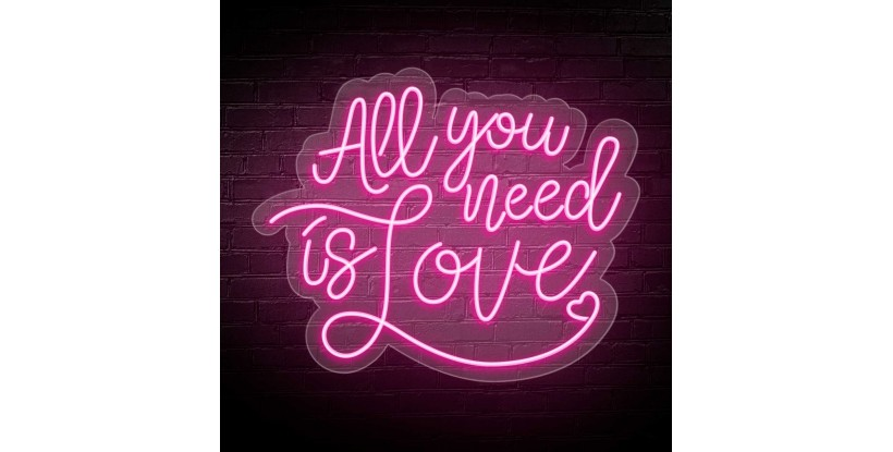 Neón ALL YOU NEED IS LOVE