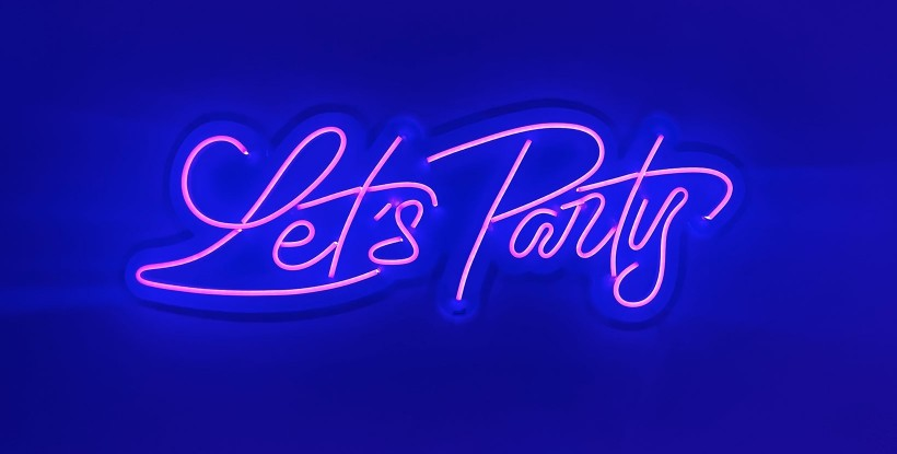 Neon Let´s party