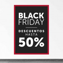 Cartel Black Friday 50%