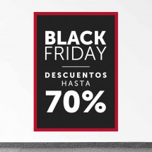 Cartel Black Friday 70%