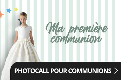 Photocall pour communions
